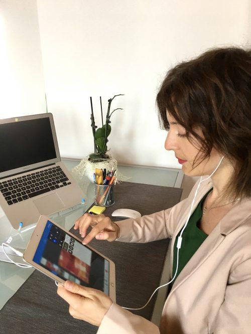 Farsi leggere un testo dall'iPad